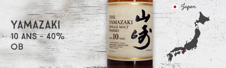 Yamazaki 10yo – 40 % – OB – 2007