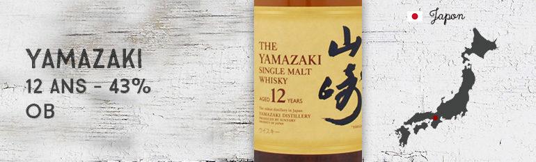 Yamazaki 12yo – 43 % – OB