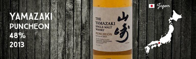 Yamazaki Puncheon – 48 % – OB – 2013