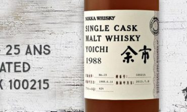 Yoichi 1988/2013 Heavily Peated – 25yo - 62 % - Cask 100215 - OB
