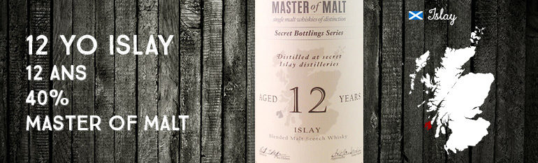 Islay 12yo – 40 % – Master of Malt