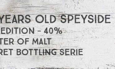 30 Years Old Speyside - 4th Edition - 40 % - Master of Malt Secret Bottling Series UD