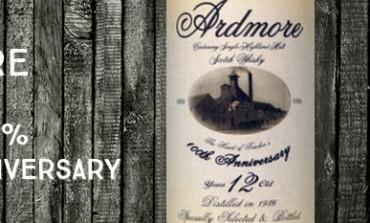 Ardmore 1986/1999 - 12yo - 40% - OB100thAnniversary