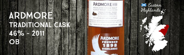 Ardmore Traditional Cask – 46 % – OB – 2011