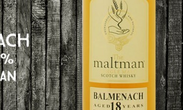 Balmenach - 18yo - 43 % - The maltman