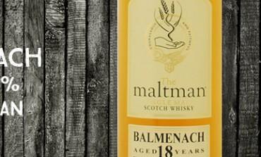 Balmenach - 18yo - 43% - The maltman