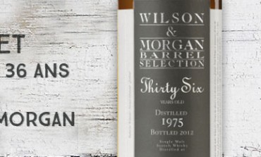 Glenlivet Thirty Six - 1975/2012 - 36yo - 58,3 % - Cask 5748 - Wilson & Morgan