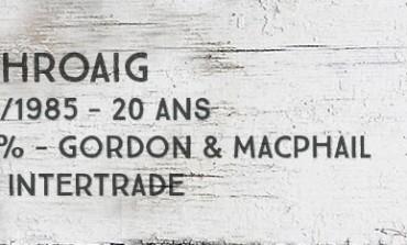 Laphroaig 1965/1985 20yo - 50,4 % - Gordon&MacPhail for Intertrade
