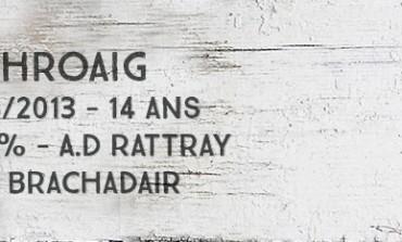 Laphroaig 1998/2013 - 14yo - 56,6 % - A.D.Rattray for Brachadair