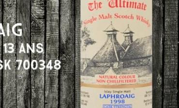 Laphroaig 1998/2011 - 13yo - 61,5 % - Cask700348 - van Wees The Ultimate