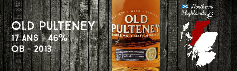 Old Pulteney – 17yo – 46 % – OB (~2013)