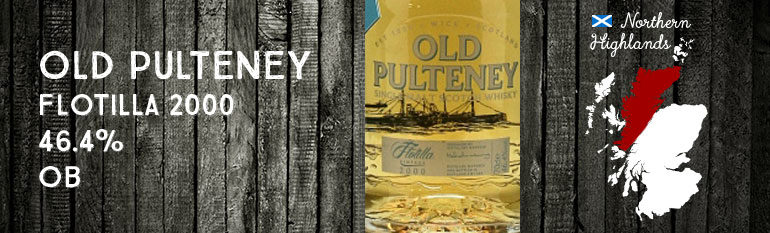 Old Pulteney Flotilla 2000 – 46,4 % – OB