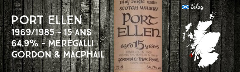 Port Ellen – 1969/1985 – 15yo – Gordon & MacPhail – for Meregalli Import – Celtic Label – 64,7%