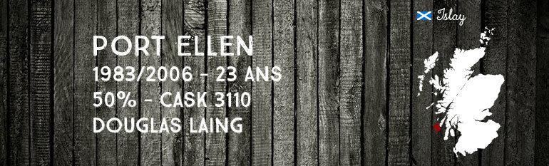 Port Ellen 1983/2006 – 23yo – 50% – Cask 3110 – Douglas Laing Old Malt Cask