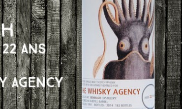 Benriach - 1991/2014 - 22yo - 50,7 % - The Whisky Agency - Mollusc & Medusa