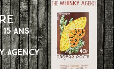 Bowmore 1998/2013 - 15yo - 52,1 % - The Whisky Agency - Stamp Series