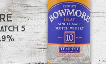 Bowmore Tempest - 10yo - 55,9% - SmallBatch 5 Reserve - OB - 2014