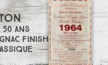 Dumbarton - 1964/2014 - 50yo - 53,1% - Cask14310 - Cognac Finish - AlambicClassique