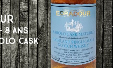 Edradour - 2006/2014 - 8yo - 46% - Barolo Cask Matured Batch 1 - OB
