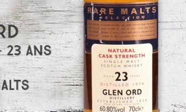 Glen Ord - 1974/1998 - 23yo - 60,8% - OB Rare Malts