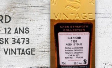 Glen Ord - 1998/2010 - 12yo - 59,3 % - Cask 3473 - Signatory Vintage - Cask Strength Collection