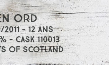 Glen Ord - 1999/2011 - 12yo - 54,4 % - Cask 110013 - Malts of Scotland