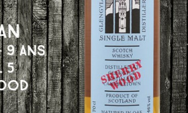 Kilkerran - Glengyle - 2004/2013 - 9yo - 46 % - OB - Work in Progress 5th Release - Sherry Wood