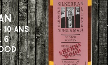 Kilkerran - Glengyle - 2004/2014 - 10yo - 46% - OB – WIP 6th Release -  Sherry Wood