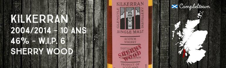 Kilkerran – Glengyle – 2004/2014 – 10yo – 46% – OB – WIP 6th Release –  Sherry Wood