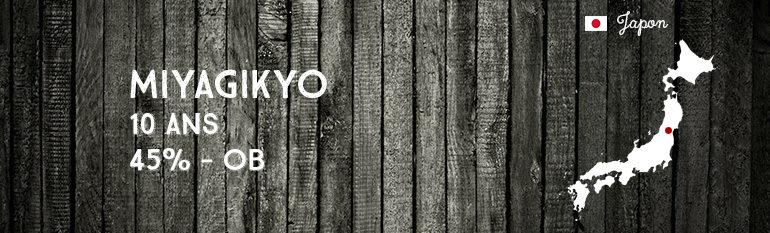 Miyagikyo 10yo – 45% – OB