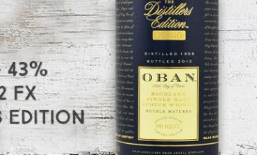 Oban 1998/2013 - Distiller's Edition - 43 % - Batch D 162 FX - OB