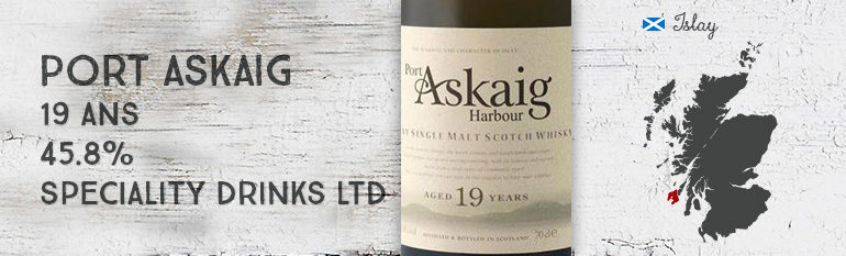 Port Askaig – 19yo – 45,8 % – Speciality Drinks Ltd.