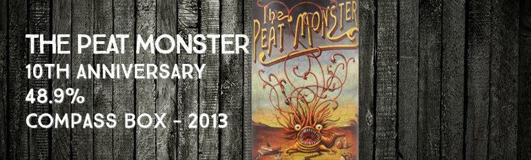 Peat Monster 10th anniversary – 48,9% – Compass Box – 2013