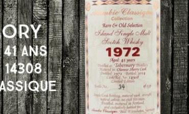 Tobermory 1972/2014 - 41yo - 51% - Cask14308 - Alambic Classique
