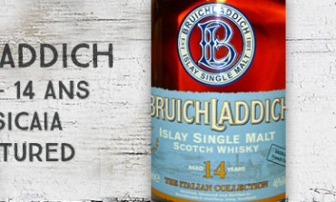 Bruichladdich - 1993/2007 - 14yo - 46 % - Sassicaia Double matured - OB