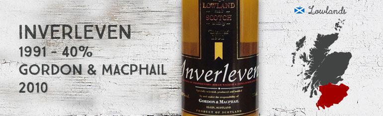 Inverleven – 1991 – 40 % – Gordon & MacPhail – 2010