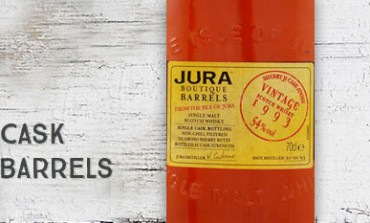 Jura 1993 - 54 % - Boutique Barrels - Sherry Ji Cask
