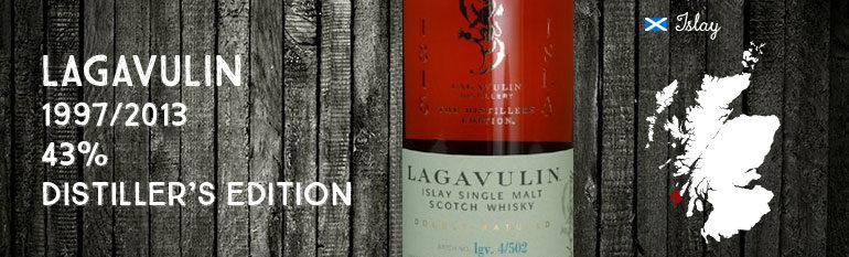 Lagavulin – 1997/2013 – 43 % – OB – Distiller's Edition
