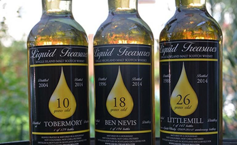 Liquid Treasures : Tobermory, Ben Nevis & Littlemill