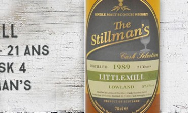 Littlemill - 1989/2010 - 21yo - 57,4 % - cask 4 - The Stillman's