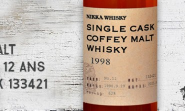 Nikka - Single Cask Coffey Malt Whisky - 1998/2011 - 12 yo - 62 % - cask 133421 - for LMDW