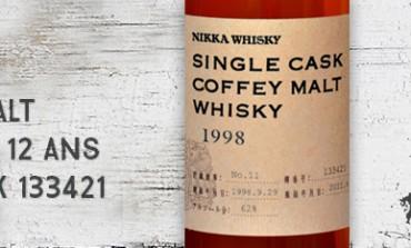 Nikka - Single Cask Coffey Malt Whisky - 1998/2011 - 12 yo - 62 % - cask 133421 - forLMDW