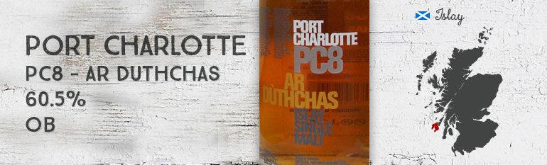 Port Charlotte – PC8 – Ar Dùthchas – 60,5 % – OB