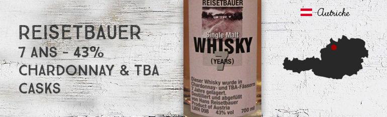 Reisetbauer 7yo – Chardonnay & TBA Casks – 43%