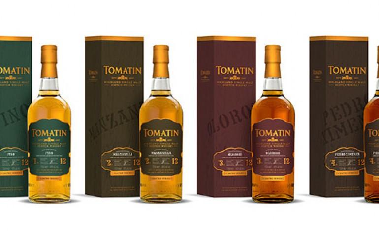 Tomatin et ses éditions limitées sherry : un Cu Bocan et les «Cuatro» fantastiques ?