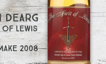 Abhainn Dearg - The spirit of Lewis - 46% - OB - New Make 2008