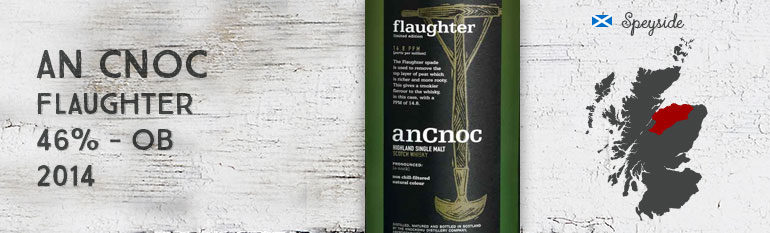 An Cnoc – Flaughter – 46 % – OB Peated – 2014