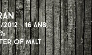 Arran - 1996/2014 - 17yo - 53,6% - Cask 837 - Master of Malt