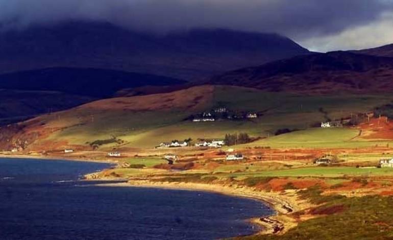 Packaging des Arran 10, 12, 14 ans et Lochranza: 4 couleurs de paysages insulaires
