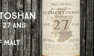 Auchentoshan - 1984/2012 - 27yo - 58% - Master of Malt